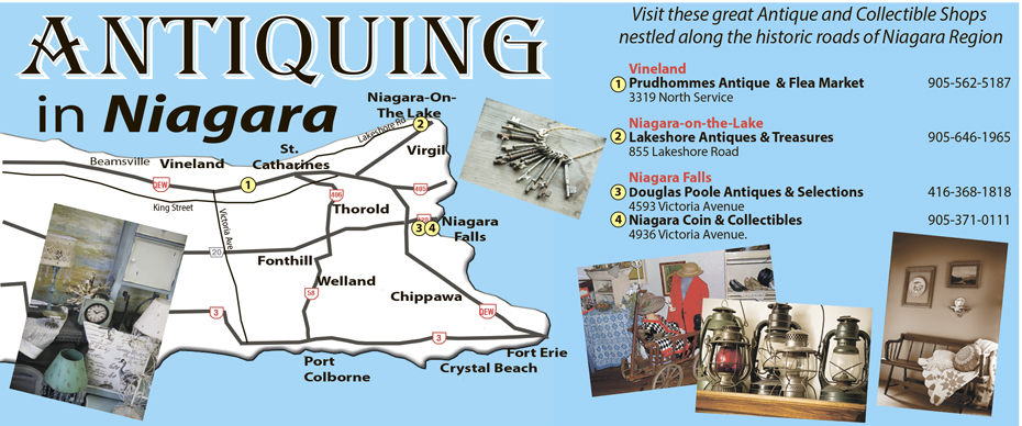 Where to find antiques in Niagara