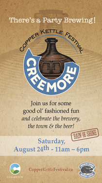 creemore springs brewery copper kettle festival