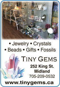 Tiny Gems crystals beads fossils